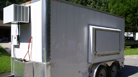 Refrigerated, Freezer, Draft, Fresh Water and Combo Trailer Sales
