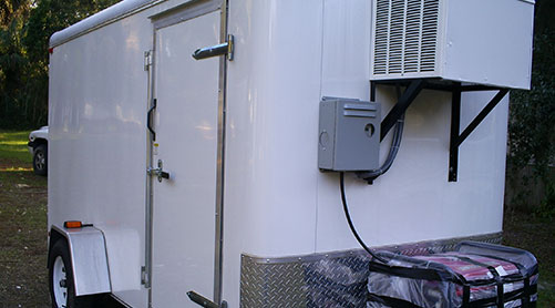Walk-in Refrigerators Refrigerated Trailers
