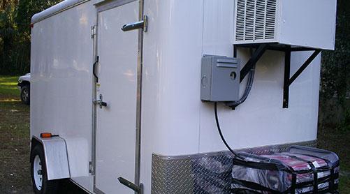 Refrigerated Trailer Rentals