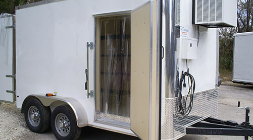Trailer Rentals Cold To Go Trailers Refrigerated